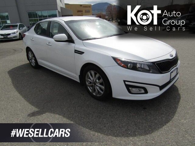 2015 Kia OPTIMA EX LUXURY! LEATHER! NO ACCIDENTS! ALL SERVICE WORK DONE HERE! BACKUP CAM! BLUETOOTH! GREAT PRICE! Kelowna BC