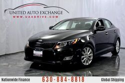 Kia Optima 2.4L Engine FWD EX w/ Sunroof, Heated Leather Seats, Bluetooth Connectivity, Push Start Button, Rear View Camera, Infinity Sound System Addison IL