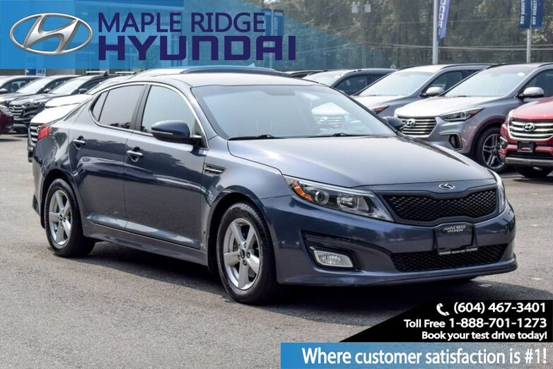 2015 Kia Optima Auto, Power Group, Alloy Wheels, Blue Tooth,Ba Maple Ridge BC