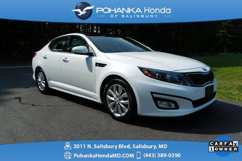 2015_Kia_Optima_EX ** LOW MILES! ** ** NAVI & SUNROOF ** ONE OWNER **_ Salisbury MD