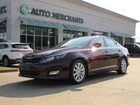 2015 Kia Optima EX LEATHER, DUAL SUNROOF, HTD/CLD STS, BLUETOOTH, UNDER FACTORY WARRANTY Plano TX