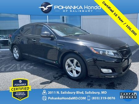 2015_Kia_Optima_LX ** Pohanka Certified 10 Year / 100,000  **_ Salisbury MD
