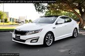 2015 Kia Optima SX Turbo Fully Loaded Snow Pear White/Black 1 Owner!