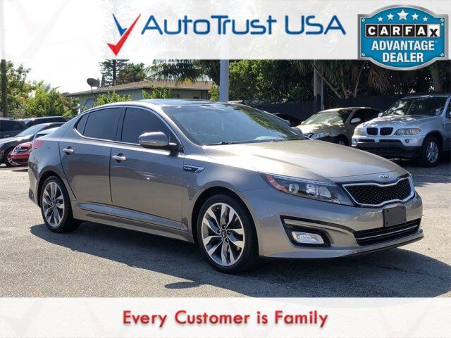 2015 Kia Optima SX Turbo Miami FL