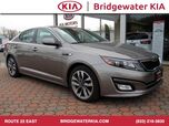 2015 Kia Optima SX Turbo Sedan, Push Button Engine Start, In-Dash CD/MP3-Player, Bluetooth Technology, Leather Bucket Seats, Turbocharged 4-Cylinder Engine, HID Headlights, 18-Inch Alloy Wheels,