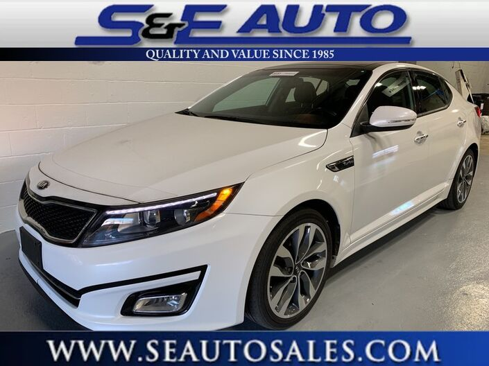 2015 Kia Optima SX Turbo Walpole MA