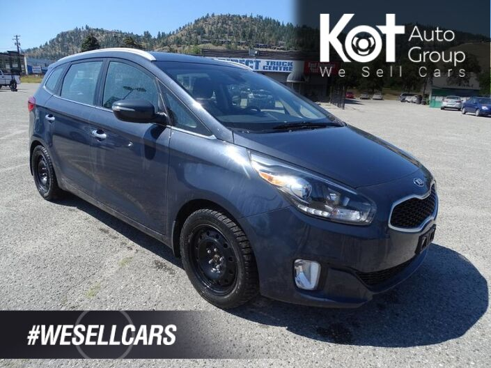 2015 Kia Rondo EX, Heated Seats and Steering Wheel, Back-up Camera, Eco Mode FUEL EFFICIENT! Kelowna BC