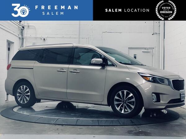 2015_Kia_Sedona_SX 7-Passenger Backup Camera Navigation_ Salem OR