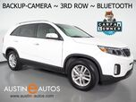 2015 Kia Sorento LX *BACKUP-CAMERA, 3RD ROW SEATING, HEATED SEATS, STEERING WHEEL CONTROLS, CRUISE, ALLOY WHEELS, BLUETOOTH PHONE & AUDIO