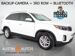 2015_Kia_Sorento LX_*BACKUP-CAMERA, 3RD ROW SEATING, HEATED SEATS, STEERING WHEEL CONTROLS, CRUISE, ALLOY WHEELS, BLUETOOTH PHONE & AUDIO_ Round Rock TX