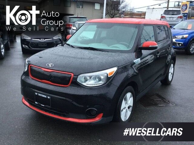 2015 Kia Soul EV FULLY ELECTRIC! NO MORE GAS! NAVIGATION! Victoria BC