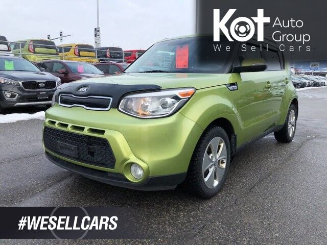 2015 Kia Soul EX, Heated front seats, Keyless entry, Air conditioning Kelowna BC