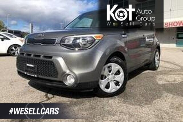 2015 Kia Soul LX, BLUETOOTH! CLEAN UNIT! GREAT FUEL ECONOMY! Kelowna BC