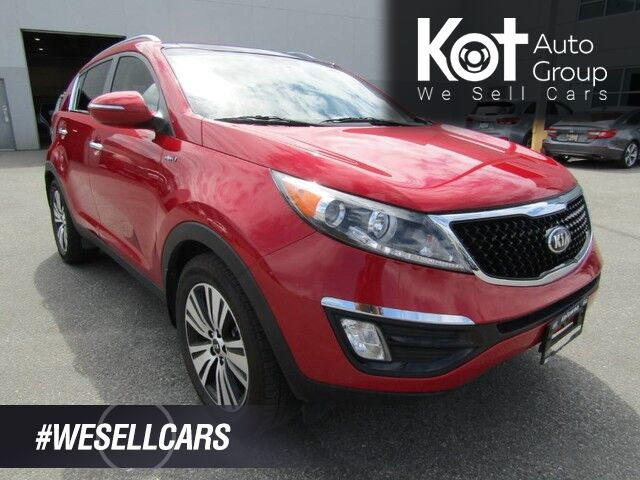 2015 Kia Sportage EX LUXURY PACKAGE!!! PANORAMIC SUNROOF!! NAVIGATION!! BACK-UP CAMERA!! Kelowna BC