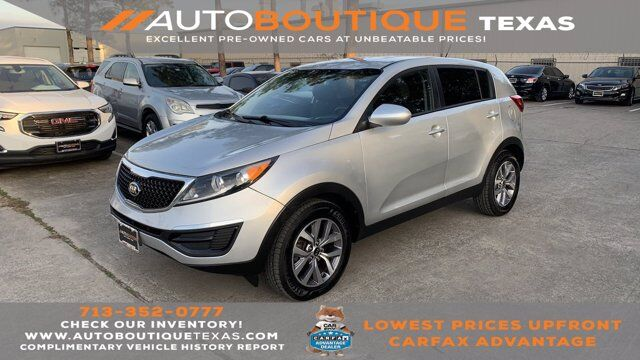 2015 Kia Sportage LX Houston TX