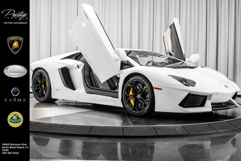 2015_Lamborghini_Aventador__ North Miami Beach FL