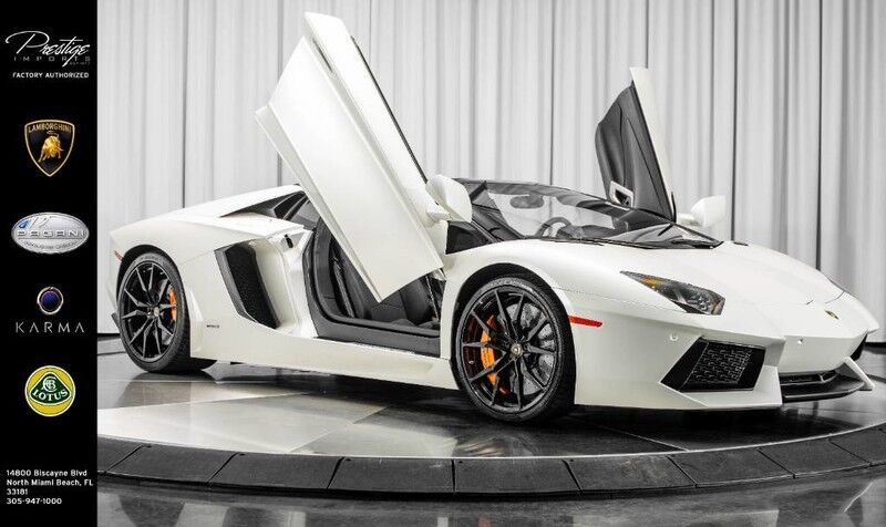 2015_Lamborghini_Aventador Roadster__ North Miami Beach FL