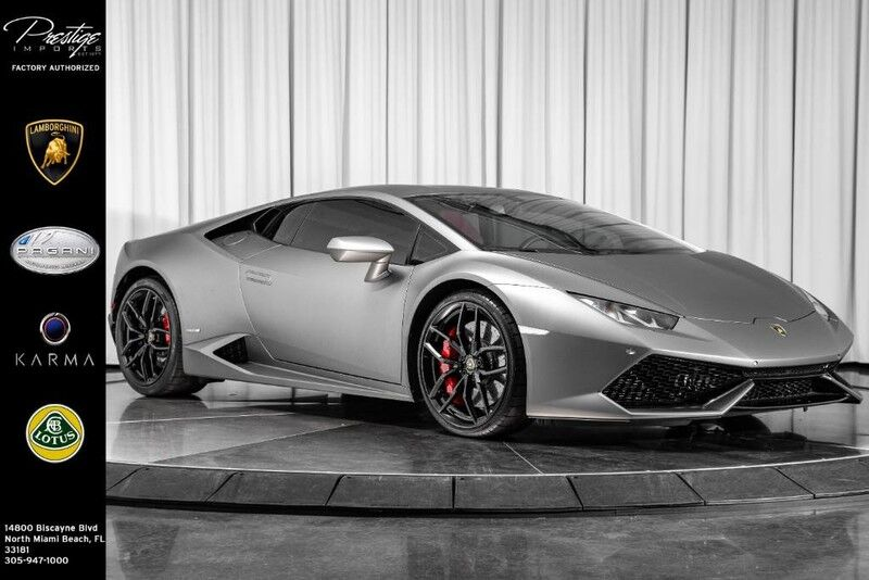 2015_Lamborghini_Huracan__ North Miami Beach FL