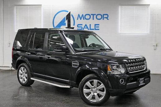 2015 Land Rover LR4 HSE 1 Owner Navi Pano Roof Schaumburg IL