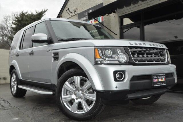 2015 Land Rover LR4 HSE AWD/ Navigation/Vision Assist Package w/ Blind Spot Monitor, Rear Cross-Traffic Alert & 360* Surround View Cameras/Climate Comfort Package w/ Heated Front & Second Rows + Steering Wheel Nashville TN
