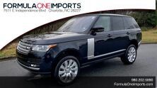 Land Rover RANGE ROVER SUPERCHARGED V8 / DRVR ASST / VISION / MERIDIAN / ADAPT CRUISE 2015