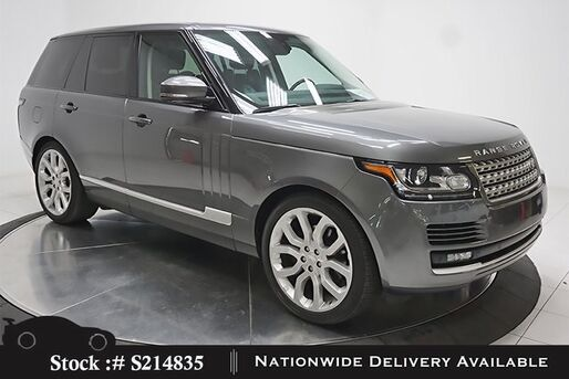 2015_Land Rover_Range Rover_3.0L V6 SC HSE NAV,CAM,PANO,CLMT STS,22IN WHLS_ Plano TX