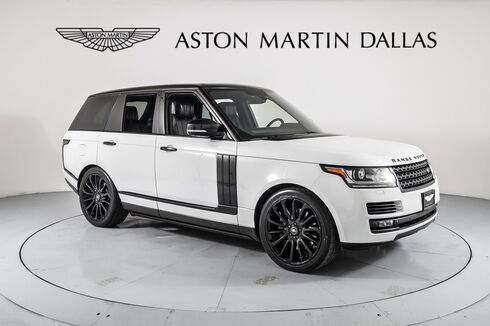 2015_Land Rover_Range Rover_5.0L V8 Supercharged_ Dallas TX