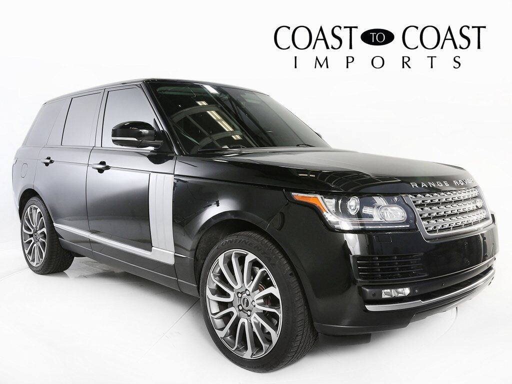 2015 Land Rover Range Rover 5.0L V8 Supercharged Indianapolis IN