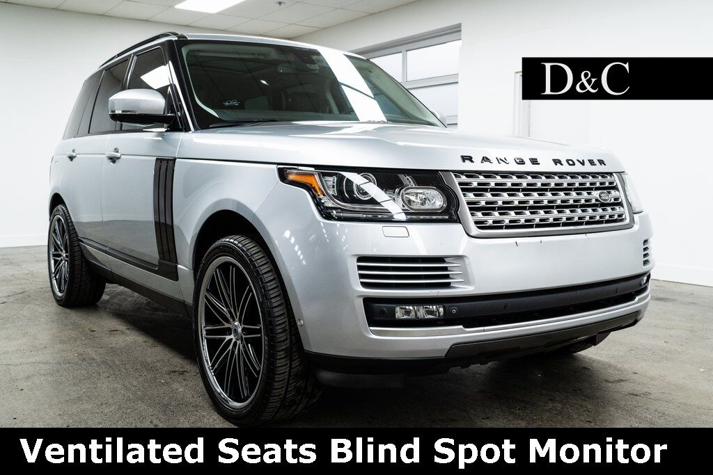 2015 Land Rover Range Rover 5.0L V8 Supercharged Ventilated Seats Portland OR