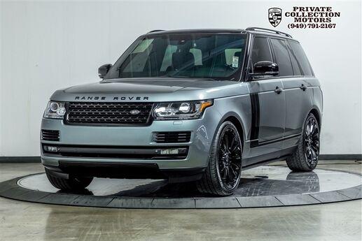 2015 Land Rover Range Rover Autobiography $140,080 MSRP Costa Mesa CA