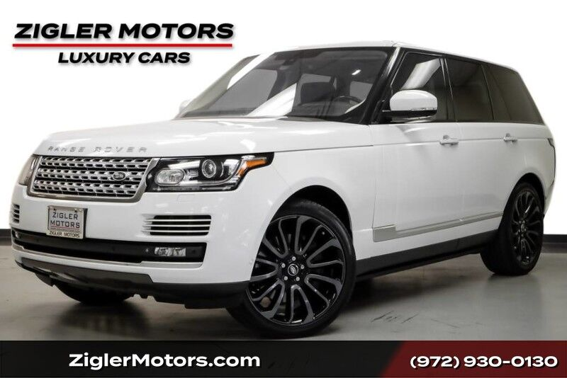 2015 Land Rover Range Rover Autobiography $145K MSRP 22 7-Spoke Wheels Rear Entertainment Addison TX