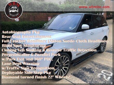 2015_Land Rover_Range Rover_Autobiography_ Arlington VA