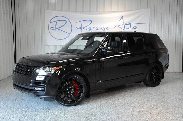 Range Rover Autobiography >> 2015 Land Rover Range Rover Autobiography Black Edition Executive Seating