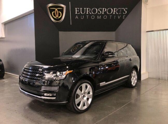 2015 Land Rover Range Rover Autobiography Salt Lake City UT