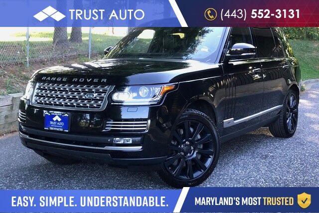 2015 Land Rover Range Rover Autobiography Sykesville MD