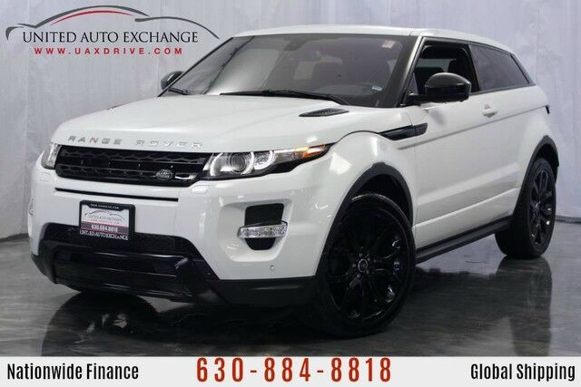 2015 Land Rover Range Rover Evoque 2.0L Engine 4WD ** COUPE LIMITED AVAILABILITY ** w/ Panoramic Sunroof, Navigation, Bluetooth Connectivity, Meridian Premium Sound System, Front and Rear Parking Aid with Rear View Camera Addison IL
