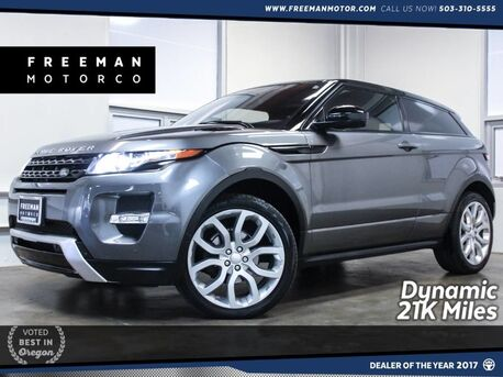 2015_Land Rover_Range Rover Evoque_Dynamic 21K Miles Pano Blind Spot Assist_ Portland OR