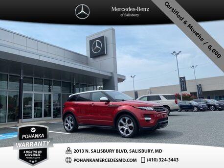 2015_Land Rover_Range Rover Evoque_Dynamic 4WD ** Certified 6 Months / 6,000 **_ Salisbury MD