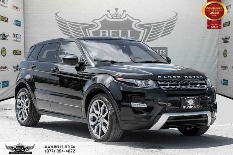 2015 Land Rover Range Rover Evoque Dynamic, AWD, NO ACCIDENT, NAVI, PANO ROOF Toronto ON