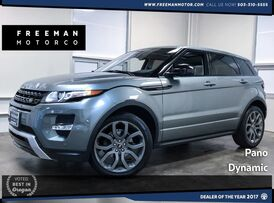 2015 Land Rover Range Rover Evoque Dynamic Blind Spot Assist Heated Seats