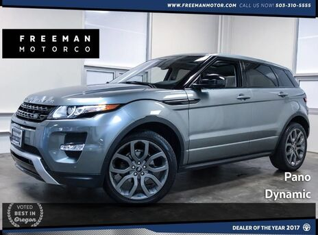 2015_Land Rover_Range Rover Evoque_Dynamic Blind Spot Assist Heated Seats_ Portland OR