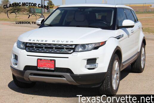 2015 Land Rover Range Rover Evoque Prestige Lubbock TX