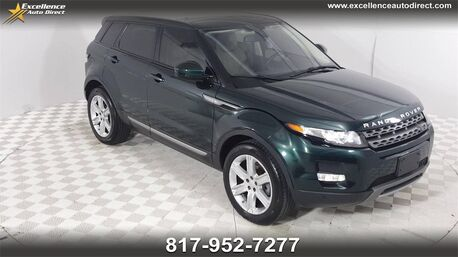 2015_Land Rover_Range Rover Evoque_Pure BUCKET SEATS,PADDLE SHIFTER,PANO ROOF,NAV,BCK-CAM_ Euless TX