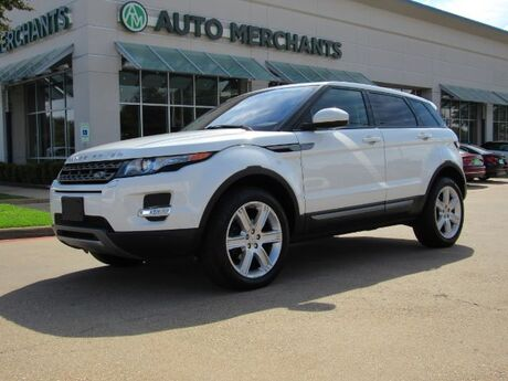 2015 Land Rover Range Rover Evoque Pure Plus 5-Door NAV, HTD STS, PANORAMIC, BACKUP CAM, PWR LIFT, BLUETOOTH, PUSH BUTTON, SAT RADIO Plano TX