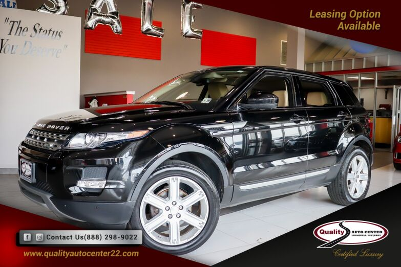 2015 Land Rover Range Rover Evoque Pure Premium and Pure Plus Pkg,. Heated Front, Rear Seats and Steering Wheel Springfield NJ