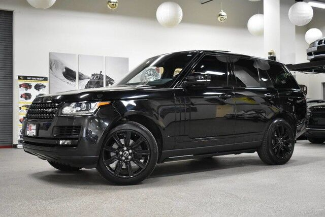 2015 Land Rover Range Rover HSE BLACK EDITION PACKAGE Boston MA