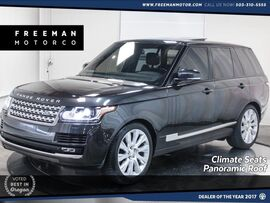 2015 Land Rover Range Rover S/C V8 4WD Climate Seats Pano