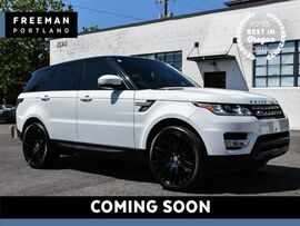 2015 Land Rover Range Rover Sport HSE 4WD 3rd Row Pano Vented Seats Blind Spot Asst