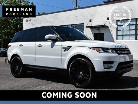 2015_Land Rover_Range Rover Sport_HSE 4WD 3rd Row Pano Vented Seats Blind Spot Asst_ Portland OR