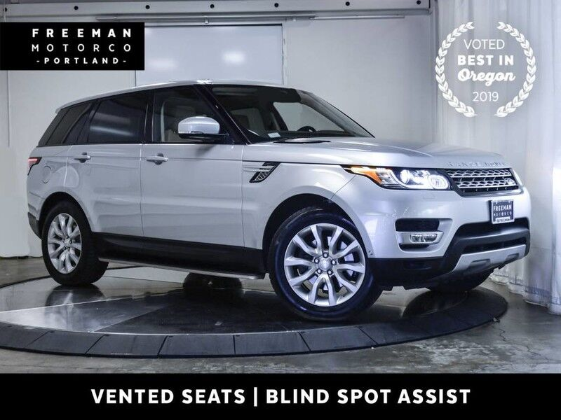 2015 Land Rover Range Rover Sport HSE 4WD Pano Blind Spot Assist Surround Cam Portland OR